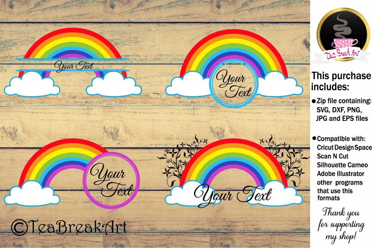 Rainbow Cutting Files 899C example image 1