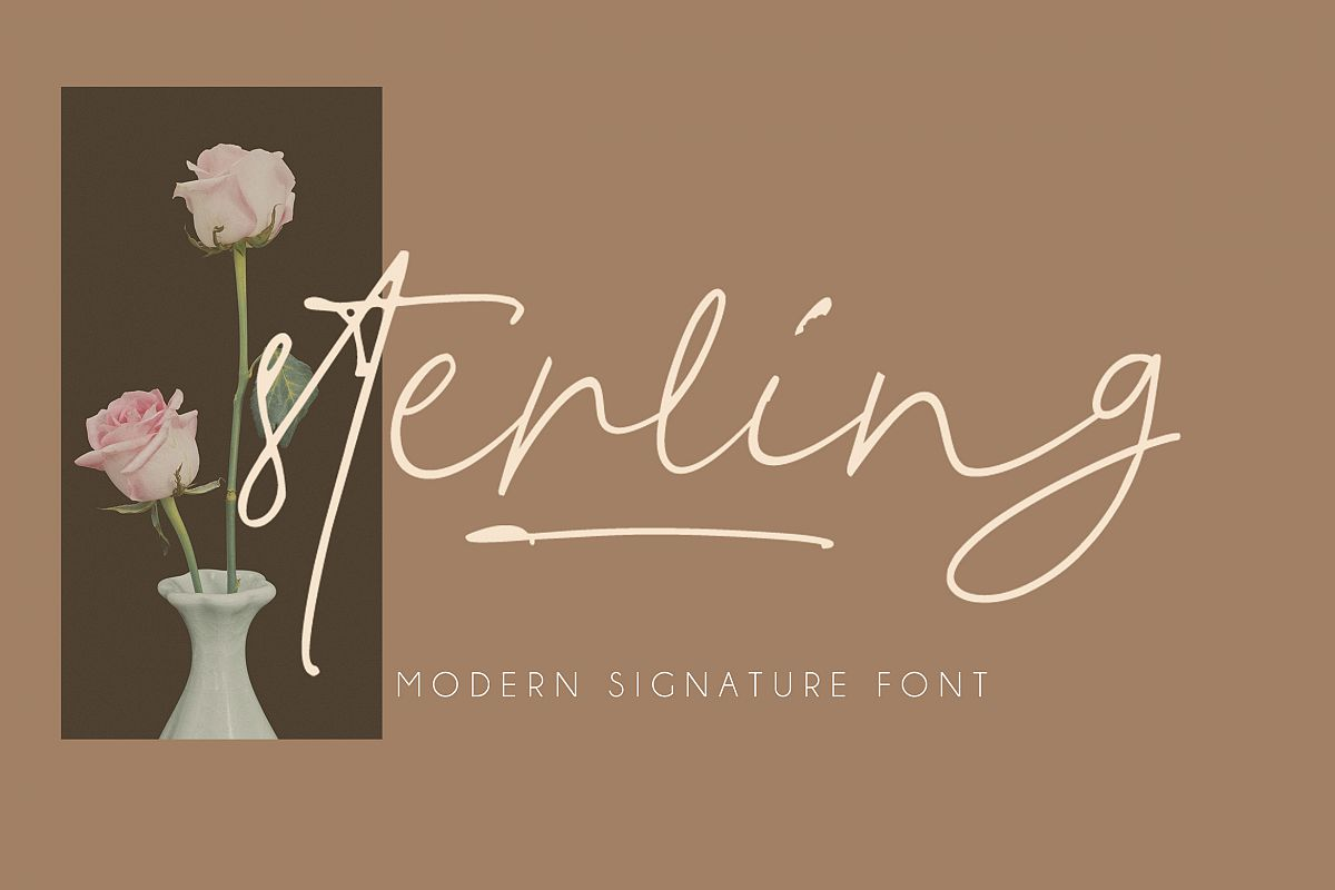 Sterling Script example image 1