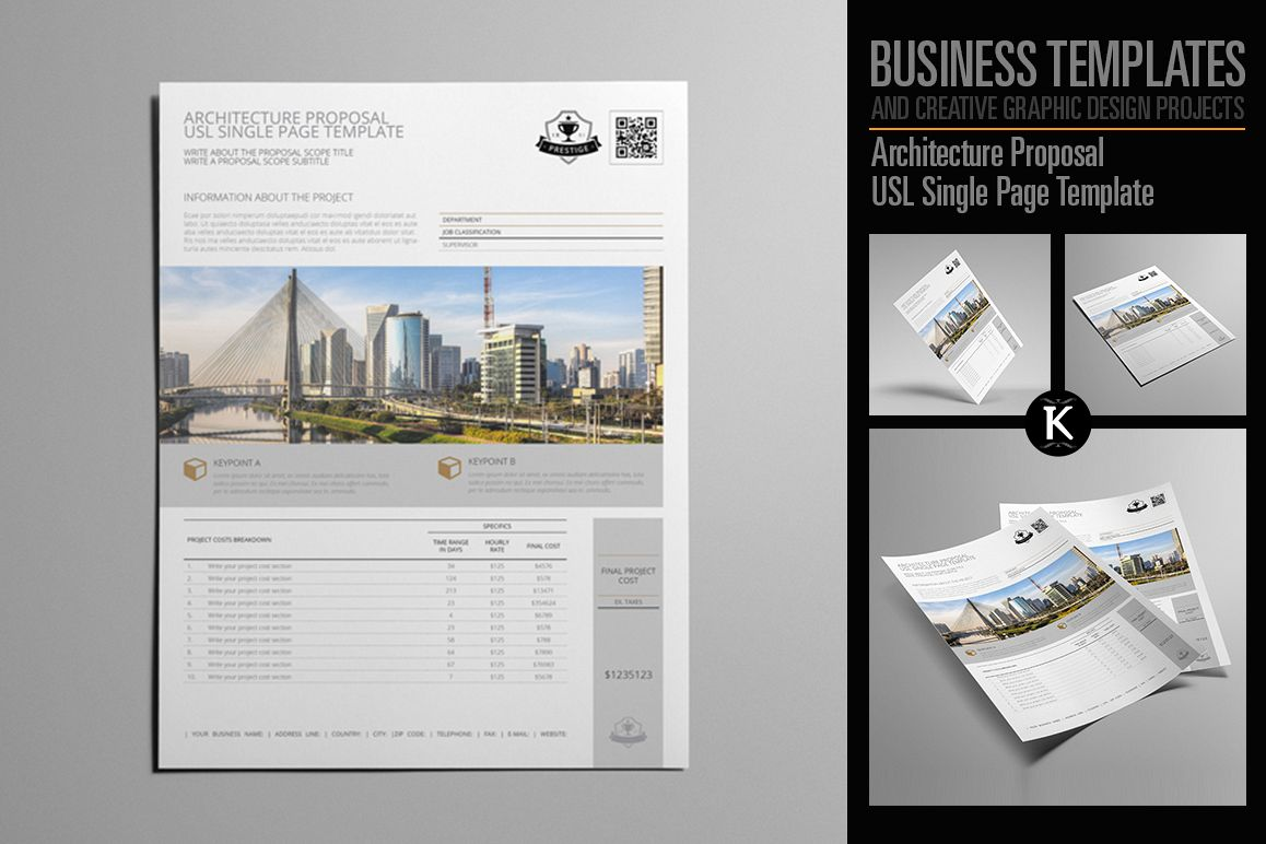 Architecture Proposal Usl Single Page Template