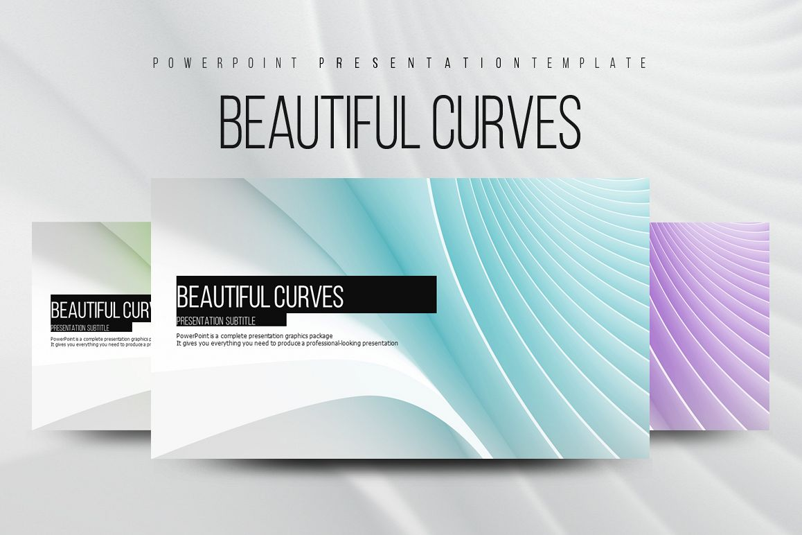 Abstract PowerPoint Template example image 1