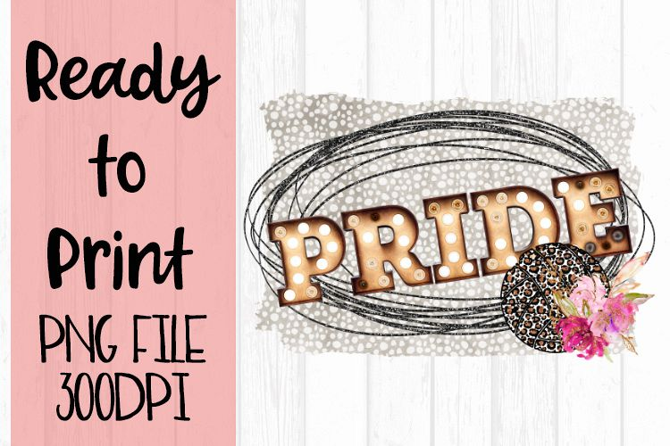 Glitter Pride Volleyball Ready to Print example image 1