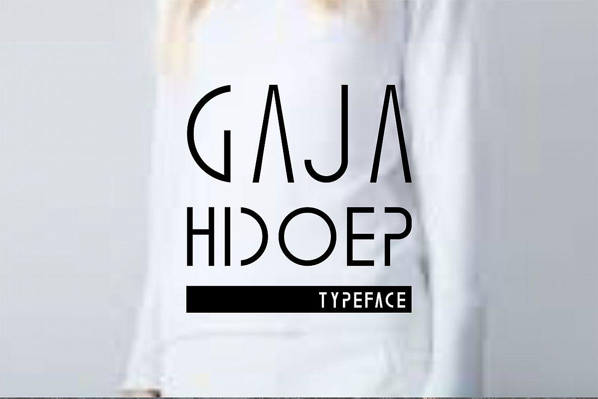 Gaja Hidoep (2 Font) example image 1
