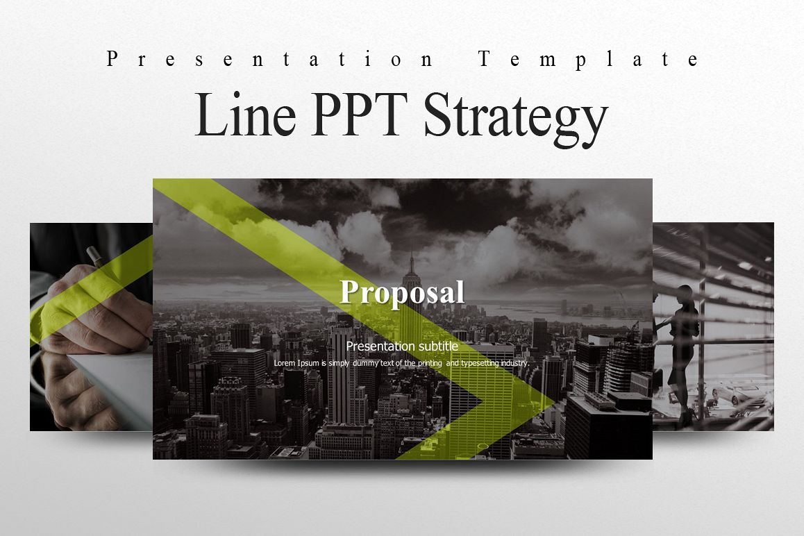 Line PPT Strategy example image 1