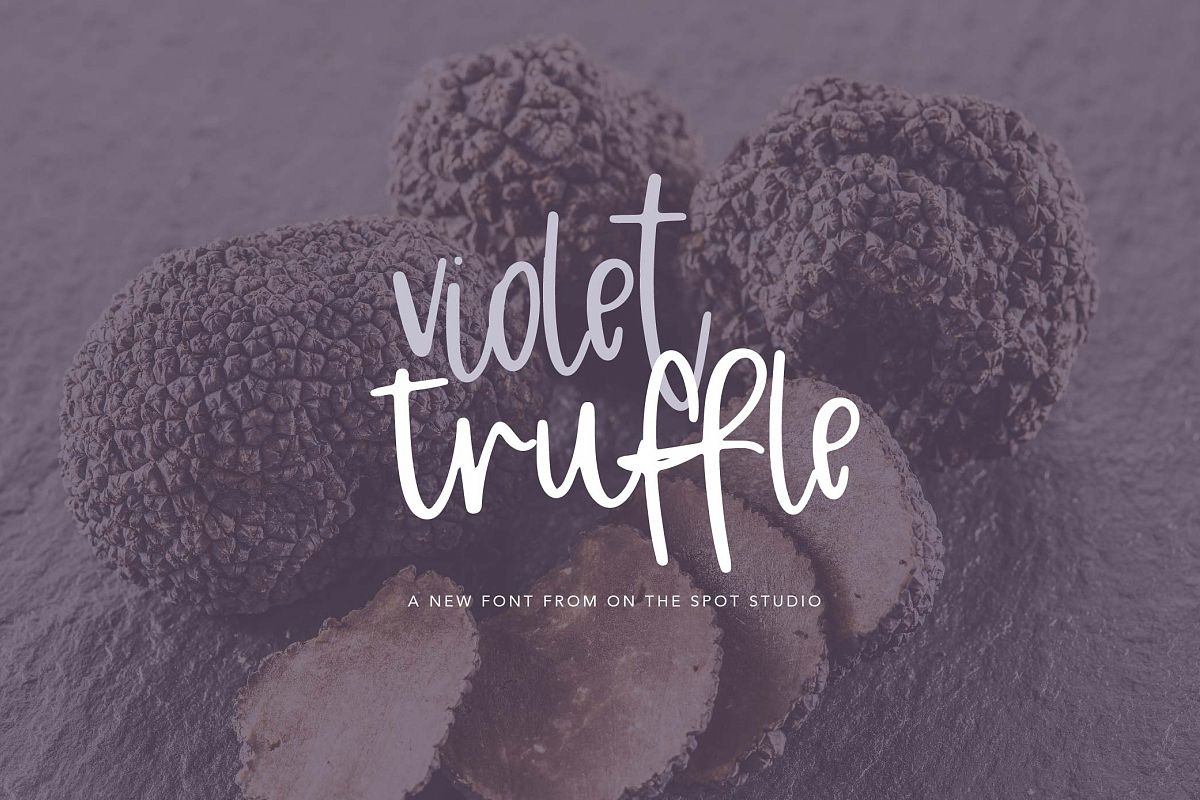 Violet Truffle example image 1