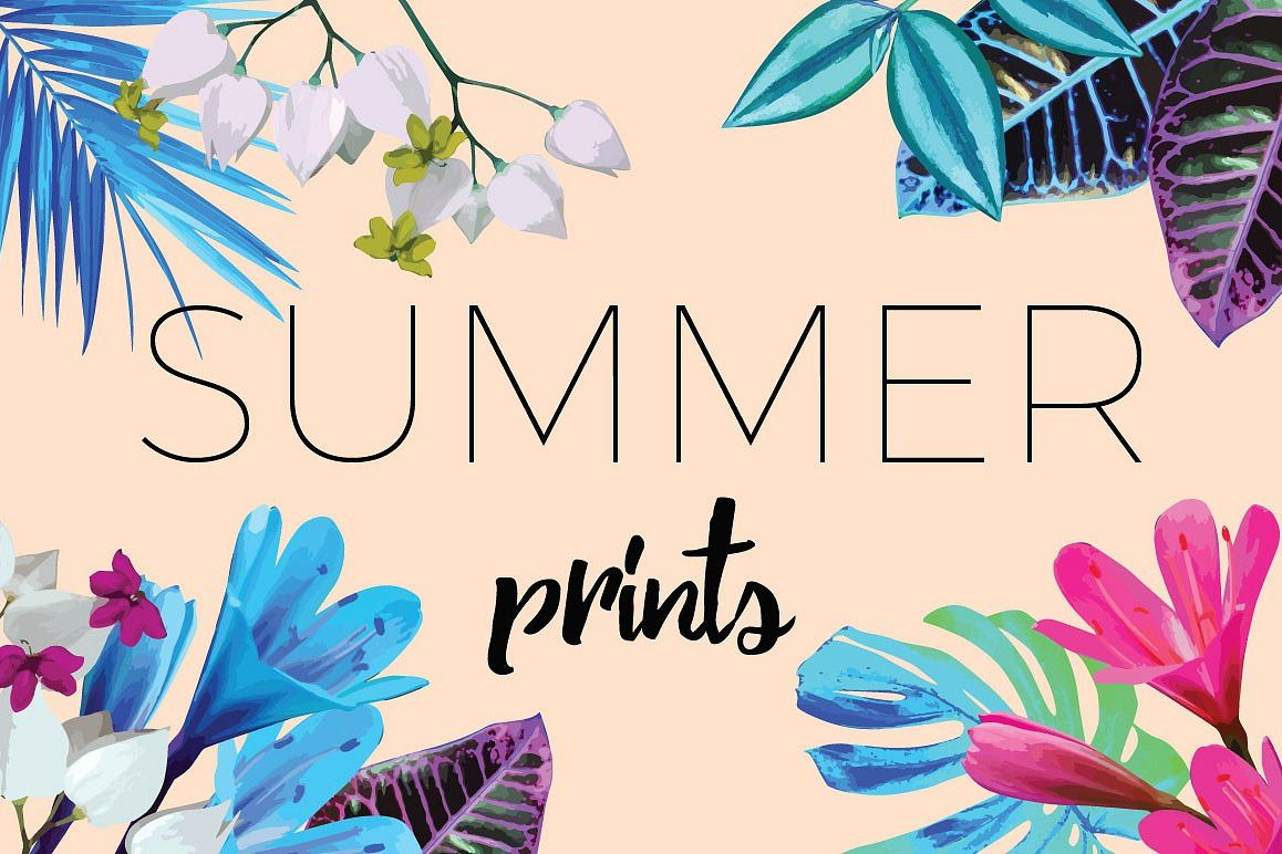 Summer vector prints example image 1