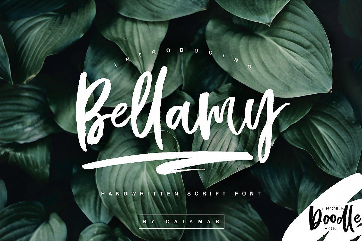 Bellamy Script example image 1