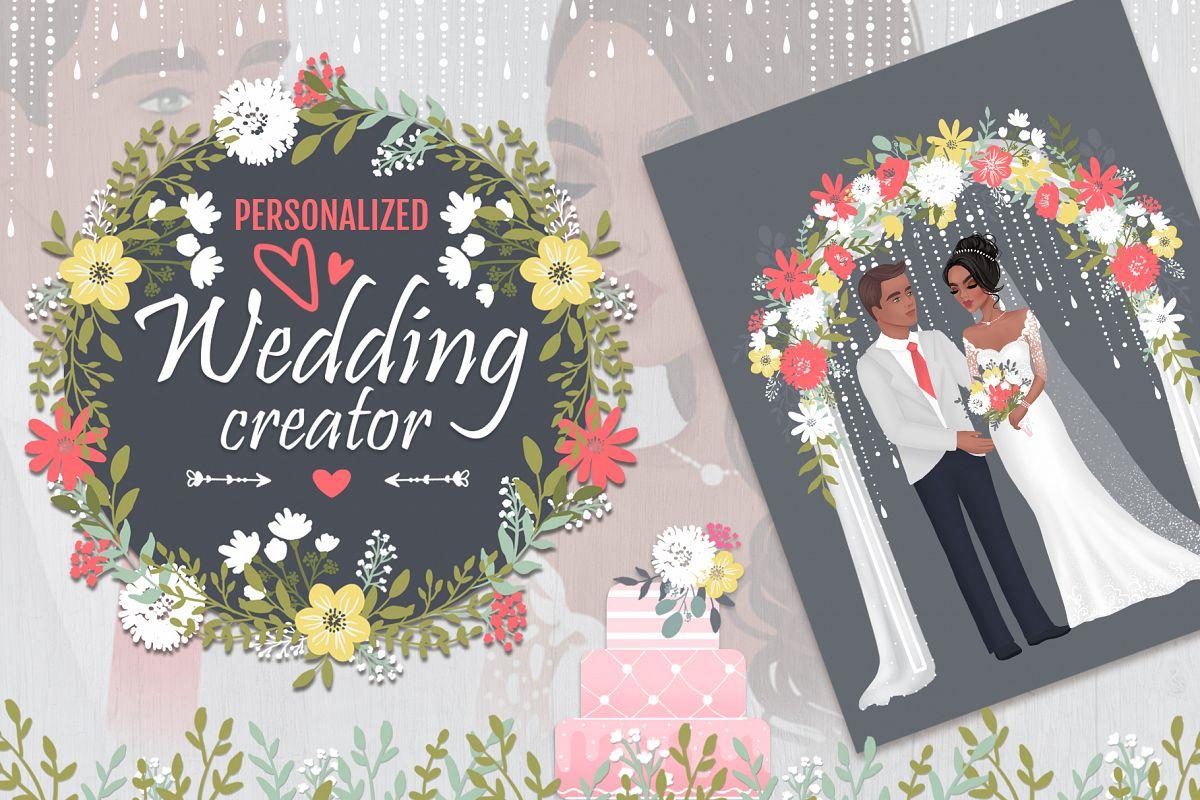Wedding personalized creator example image 1