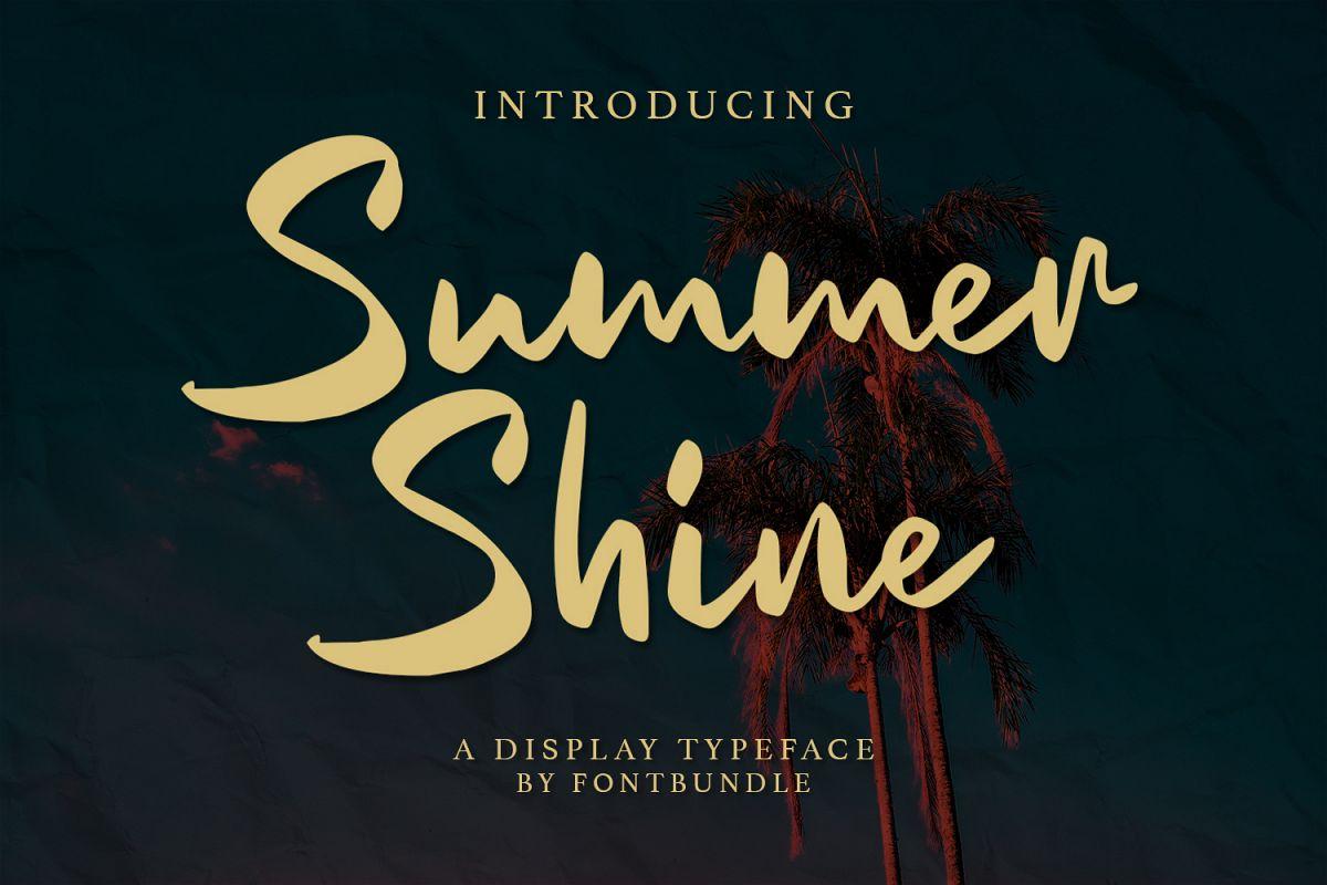 Summer Shine example image 1