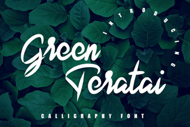 Green Teratai example image 1
