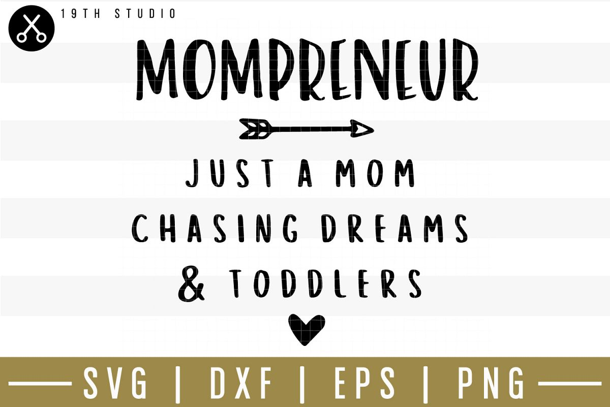 Mompreneur SVG| Mom boss SVG example image 1