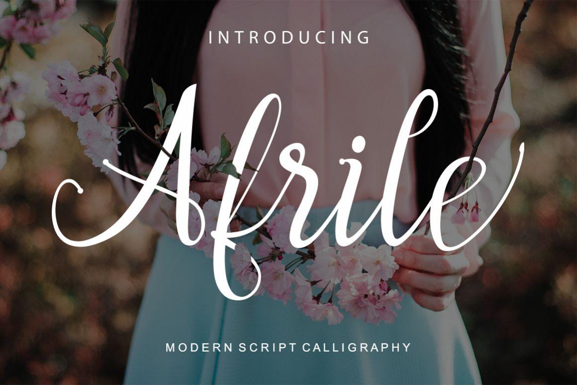 Afrile script example image 1