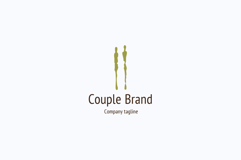 Couple logo example image 1