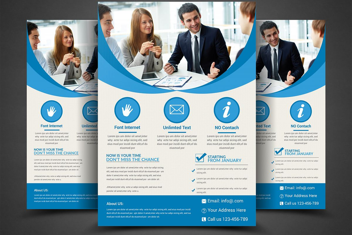 Corporate Flyer Template example image 1
