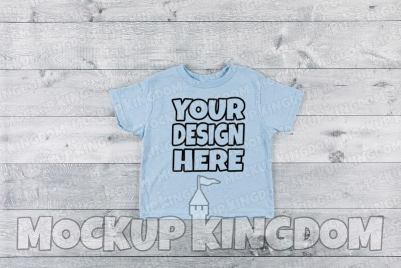 Kids Shirt Mockup, Toddler Shirt Mockup, Youth Shirt Mockup example image 1