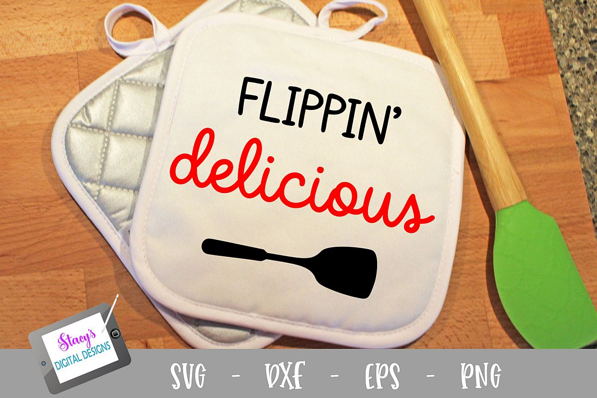 Flippin delicious SVG - Kitchen SVG example image 1