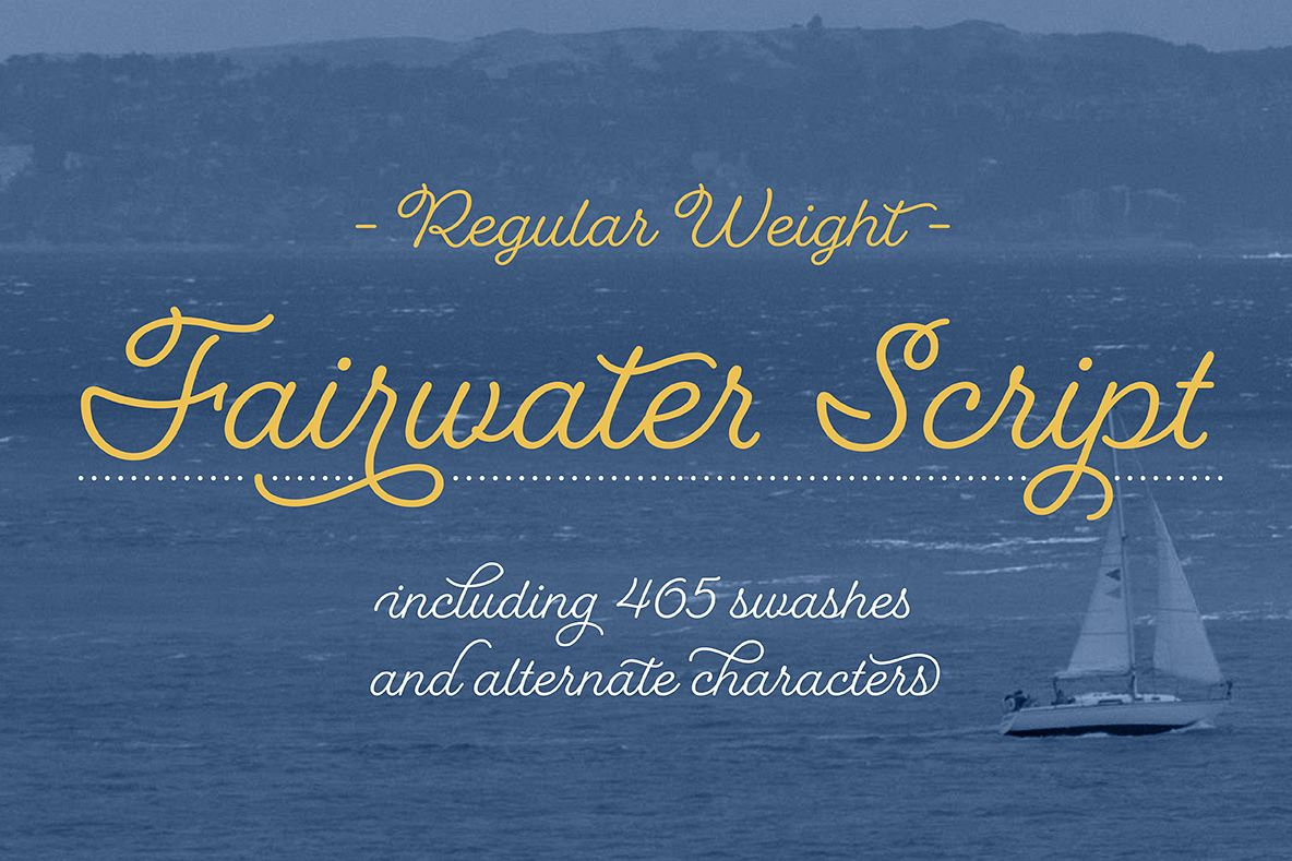 Fairwater Script Regular example image 1