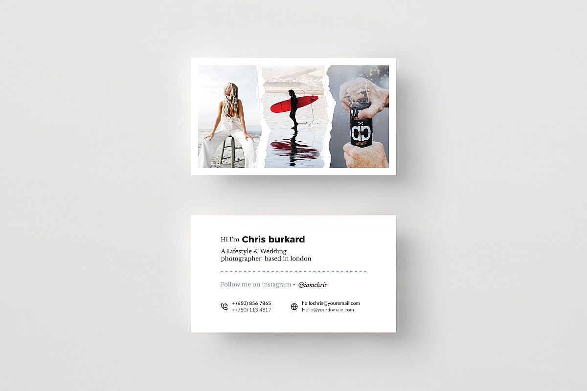 Photography Business Cards example image 1