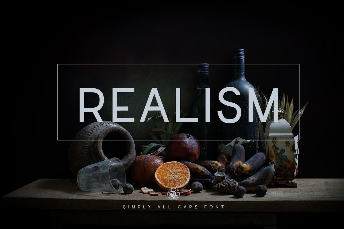 Realism Font example image 1