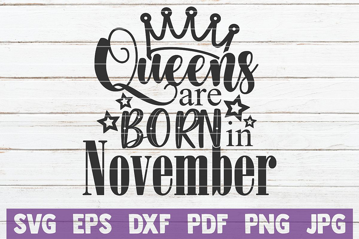 Queens Are Born In November example image 1