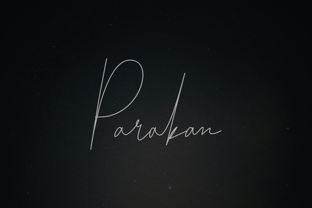 Parakan Script example image 1