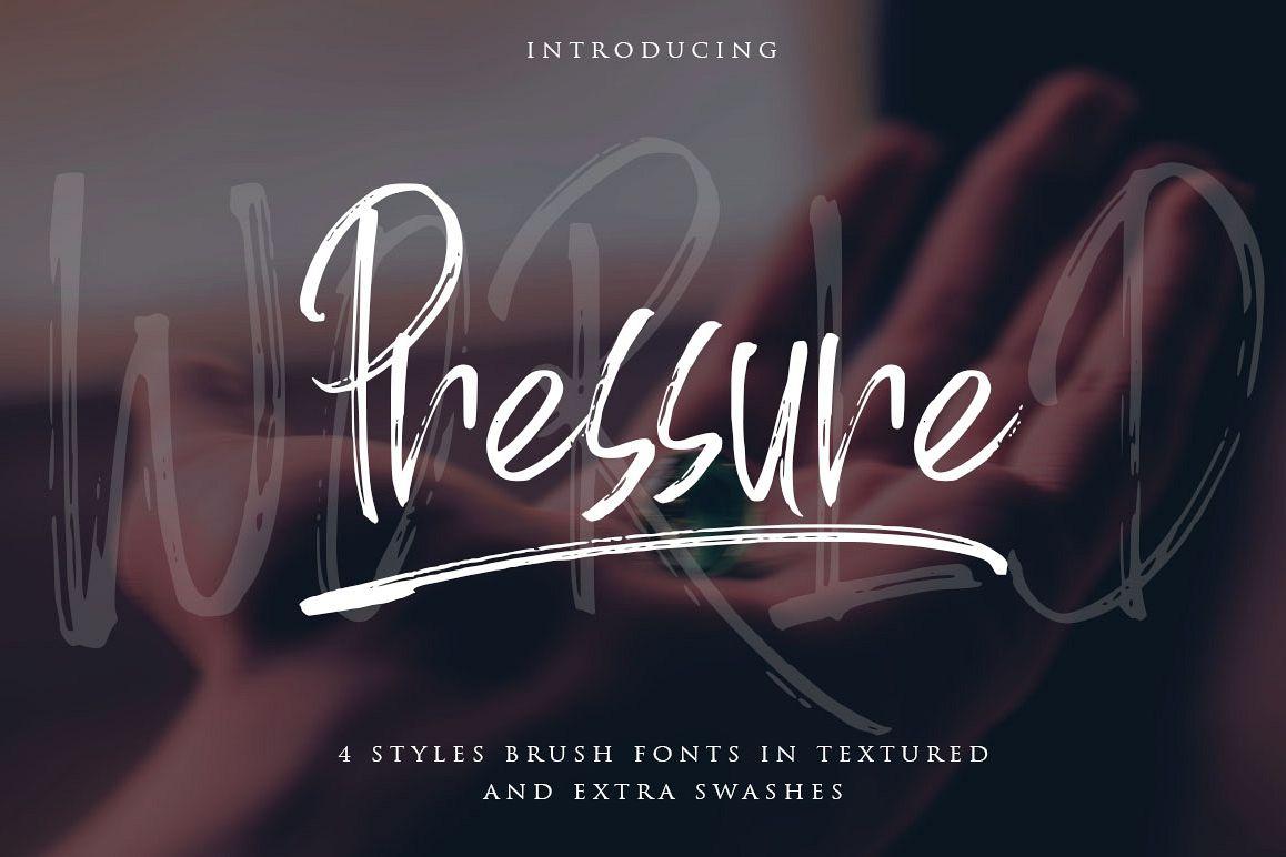 World Pressure / 4 Brush Styles example image 1
