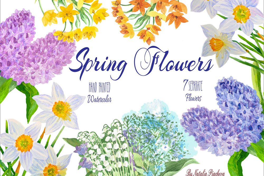 Spring Flowers example image 1