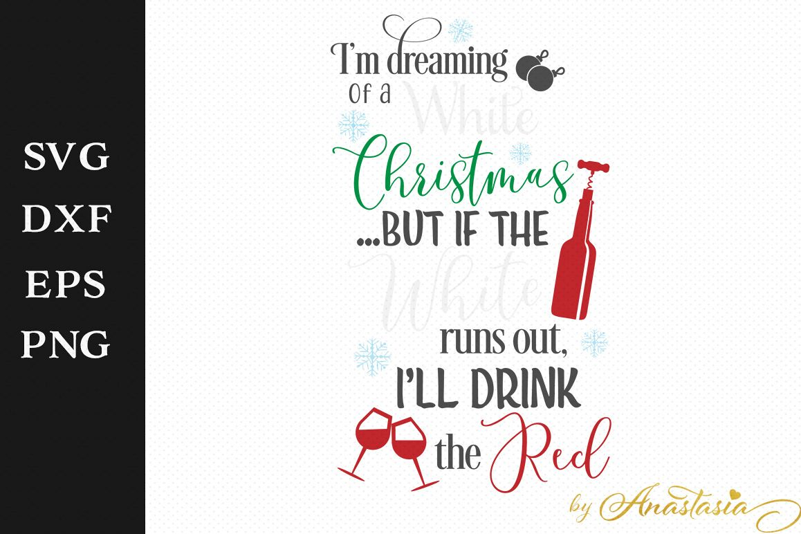 I\'m dreaming of a White Christmas..but i the white runs out, I\'ll ...