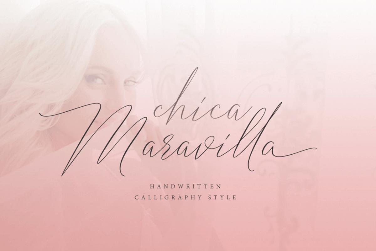 Chica Maravilla example image 1