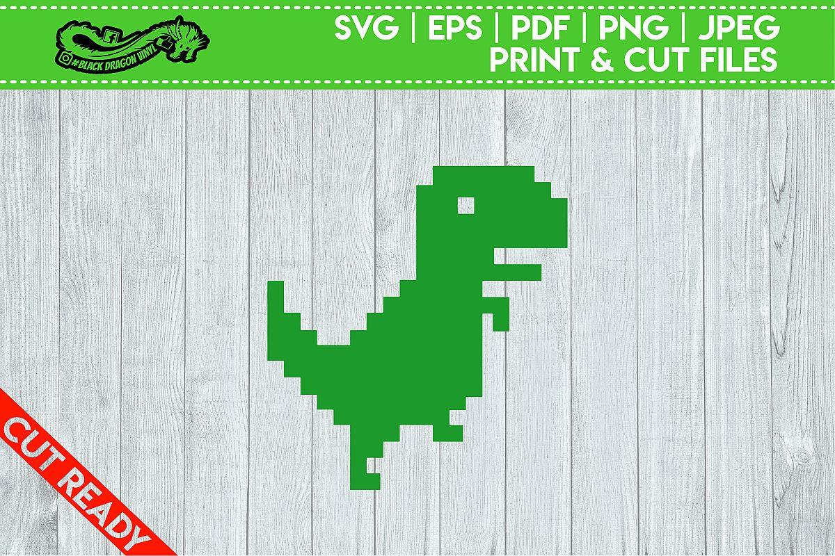 8Bit T Rex example image 1