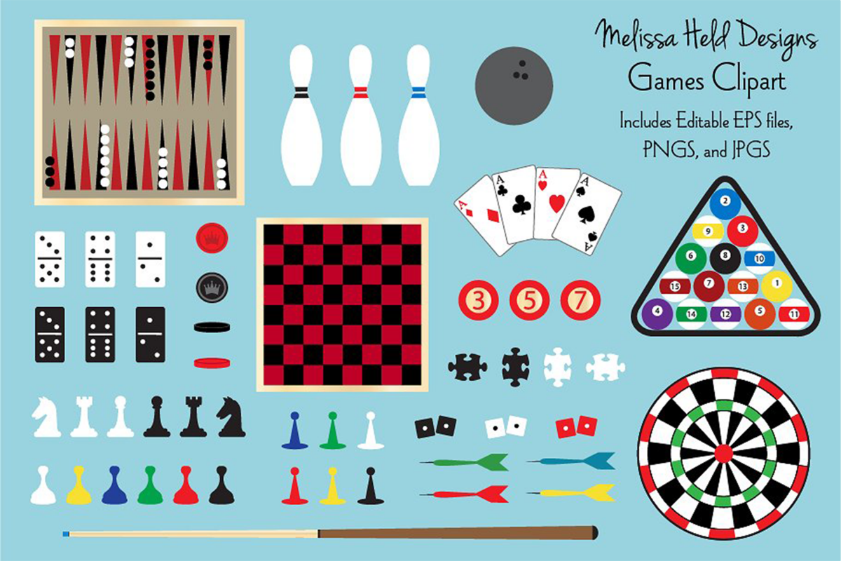 Games Clipart example image 1