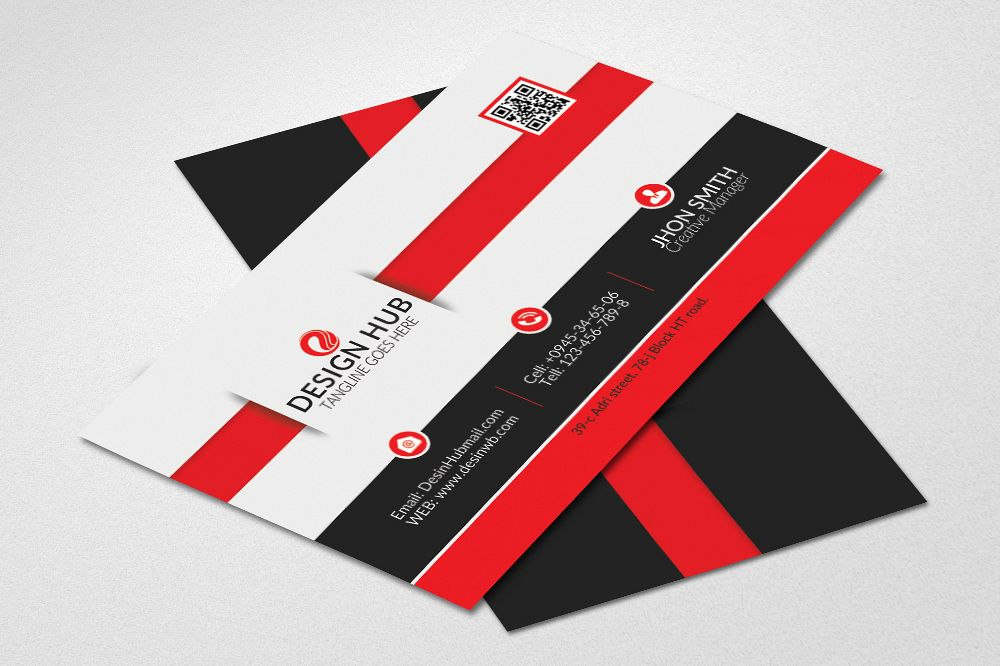 Clean Business Card Psd example image 1