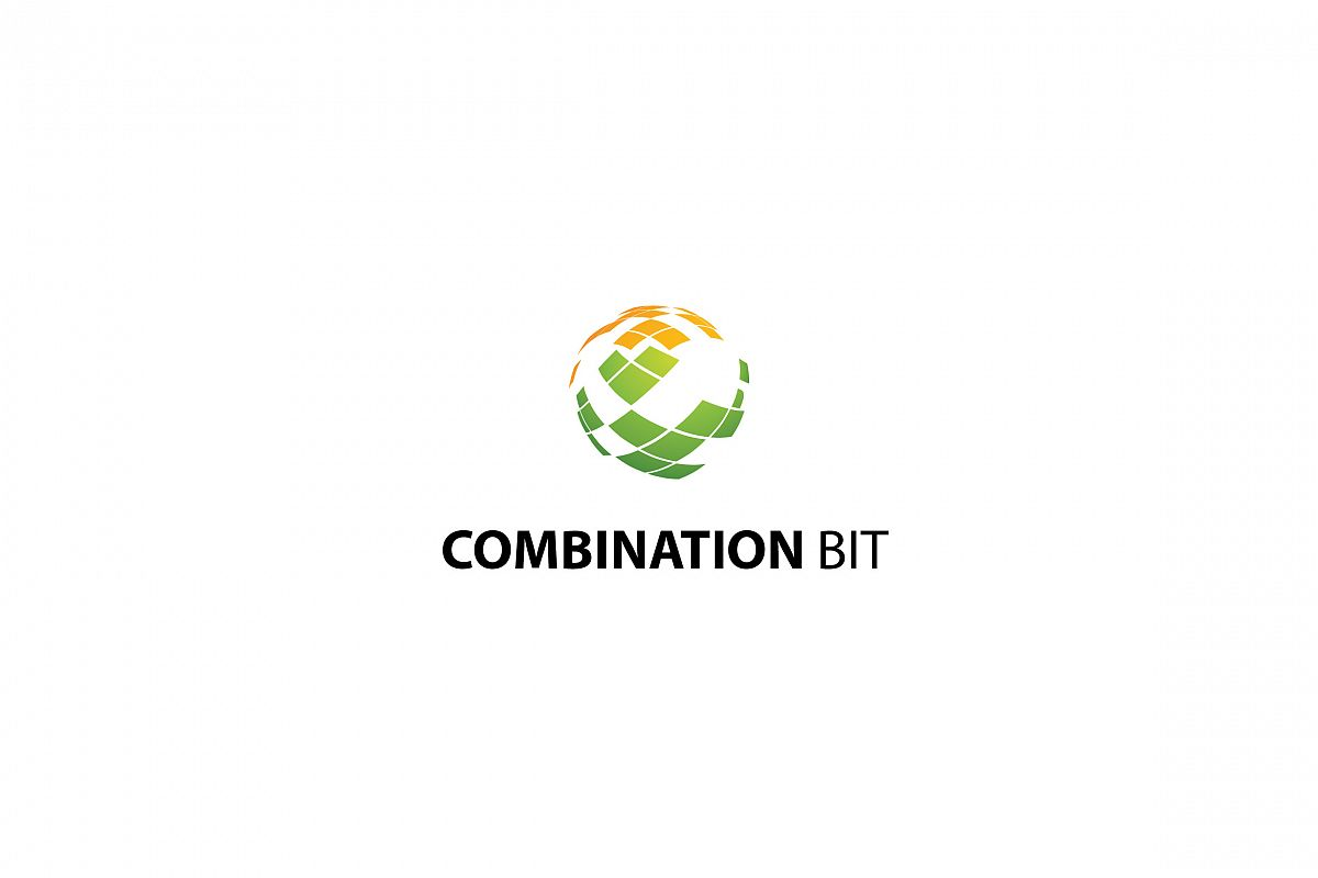 Combination Bit - Logo Template example image 1