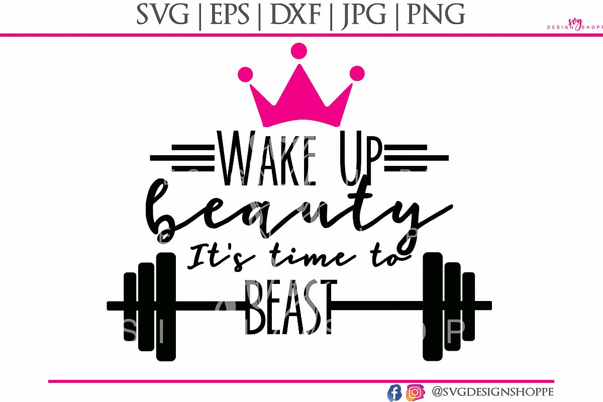Fitness SVG Files Workout SVG Cut Files Printable Clipart DXF EPS PNG JPG Files Digital Circuit Design Files Silhouette Cameo Cut Files Commercial Use example image 1