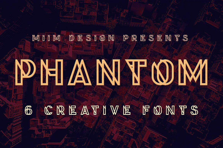 Phantom - Display Font example image 1