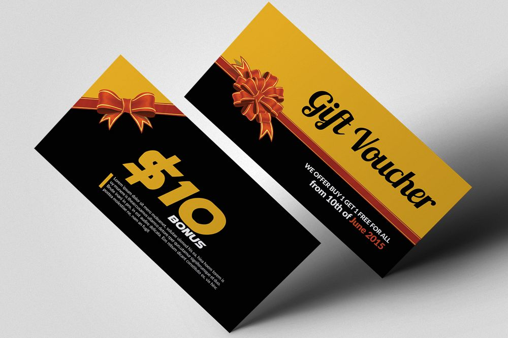 Professional Gift Vouchers example image 1