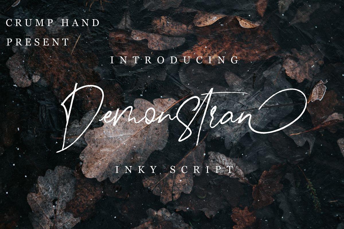 Demonstran | Inky Script example image 1