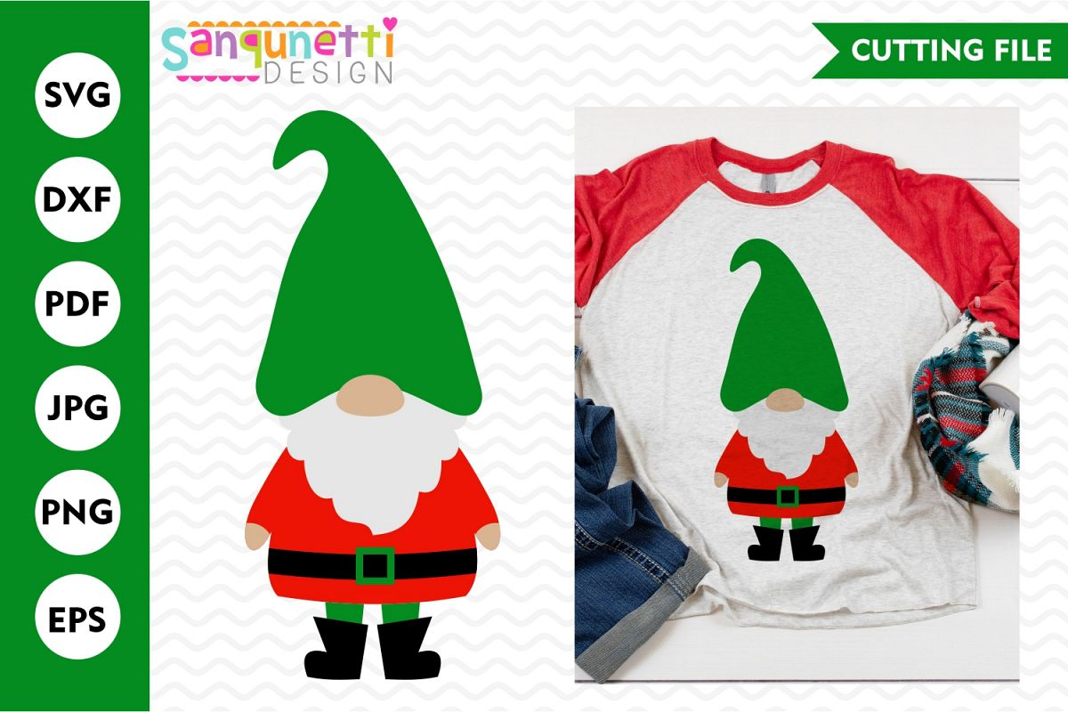 Christmas Gnome Svg.Christmas Gnome Svg Winter Cutting File