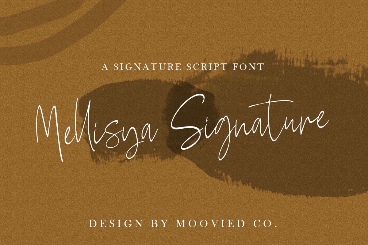 Mellisya Signature example image 1