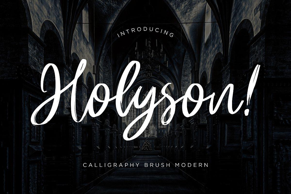 Holyson Calligraphy Brush example image 1