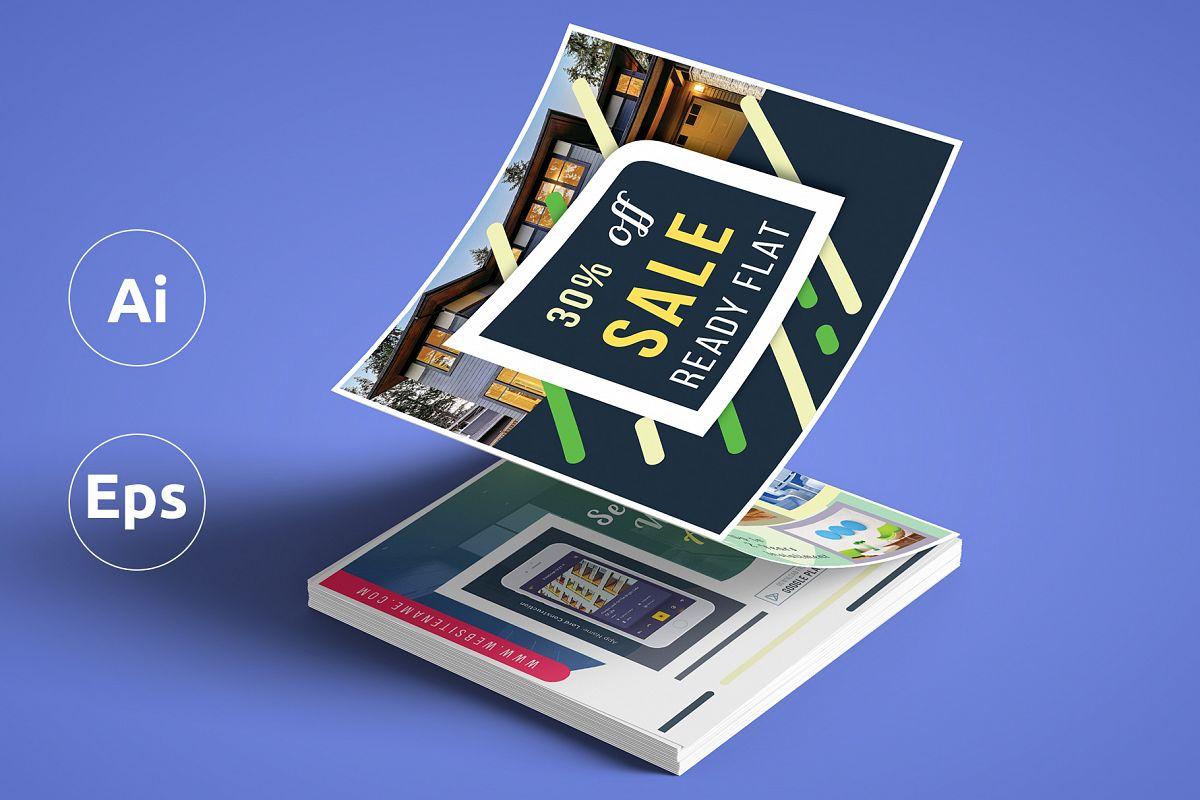 promotional z fold brochure template