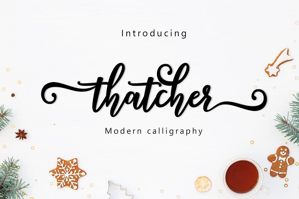 Thatcher script example image 1
