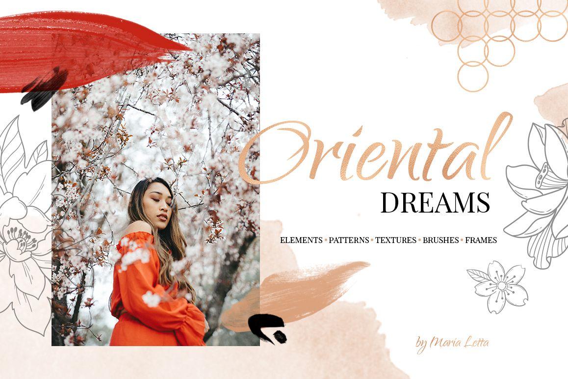 Oriental dreams design set example image 1