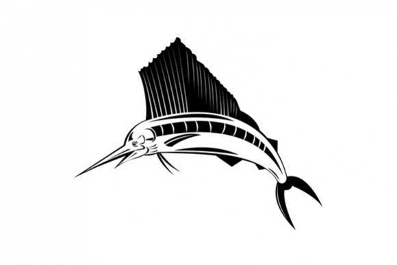 Sailfish Fish Jumping  example image 1