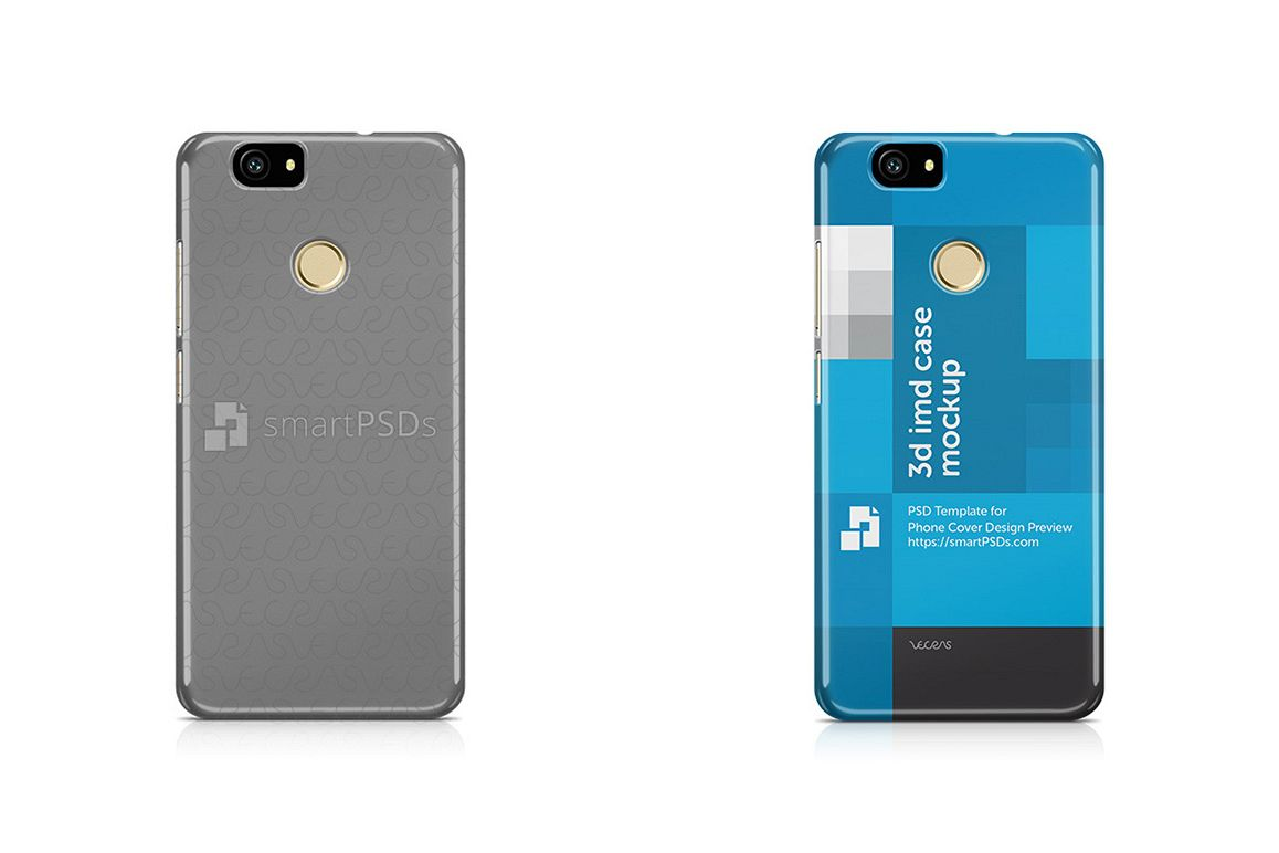 Huawei Nova 3d IMD Mobile Case Design mockup 2015 example image 1
