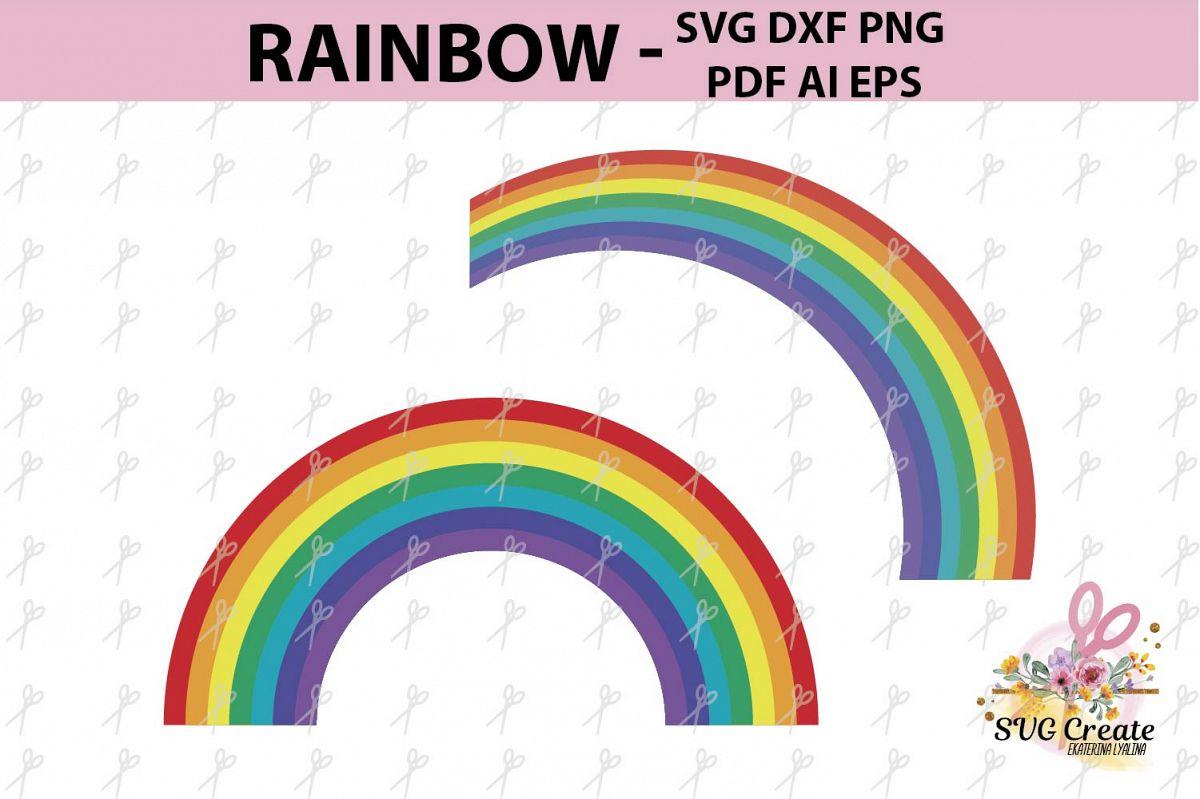 rainbow clipart rainbow template rainbow svg file print