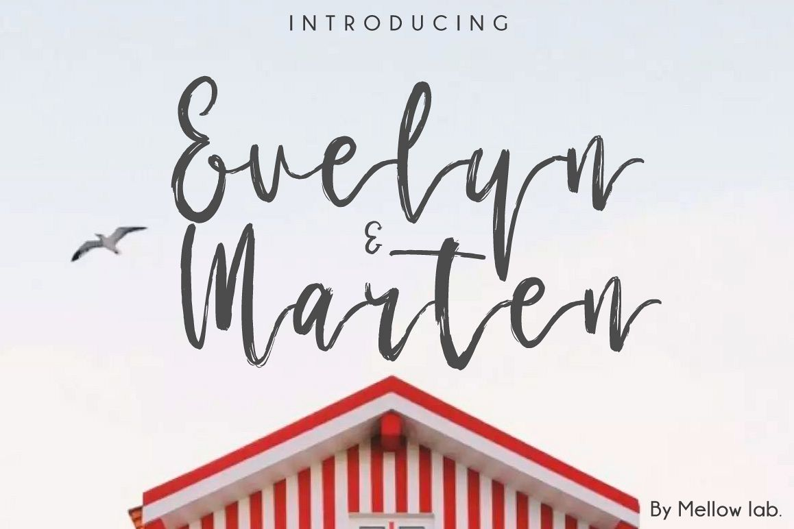 Evelyn & Marten Script example image 1