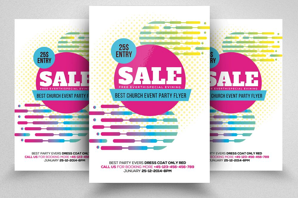 Sale Offer Flyer Template