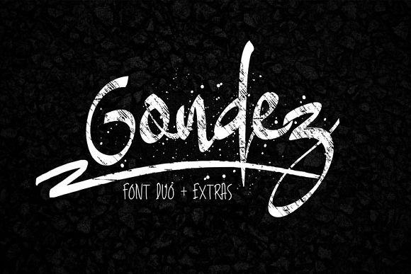 Gondez Font example image 1