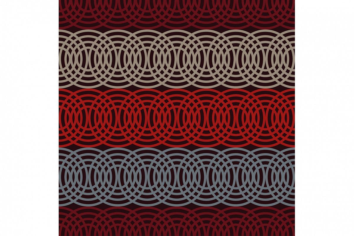 Seamless vector background with abstract geometric pattern.  example image 1