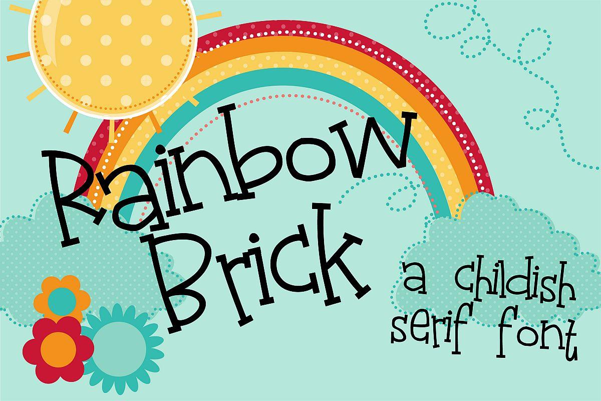 PN Rainbow Brick example image 1